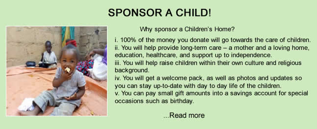 sponsor a child today